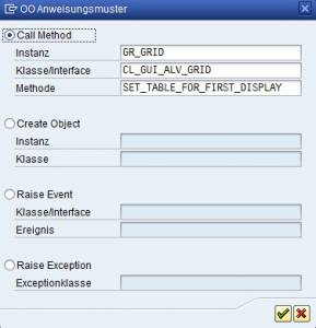 ABAP Objects Muster