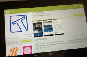Tricktresor-App Play store