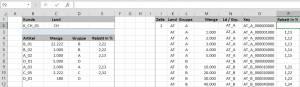 Rabattfindung Excel