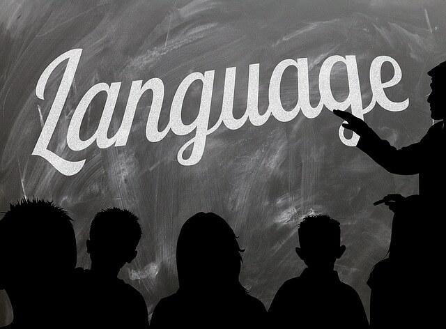 Login in anderer Sprache
