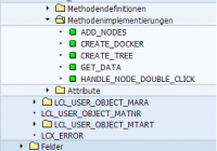 Simple Tree Model mit User-Object