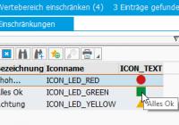 Genereller Suchhilfe-Exit zur Anzeige von Icons